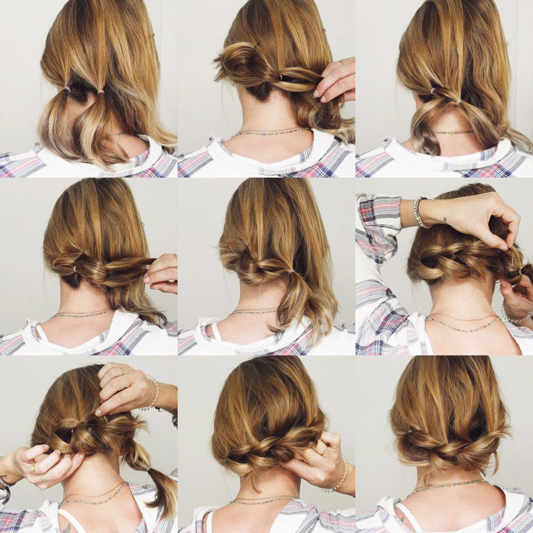 Low side pull through braid with a lob selfie ready pinterest
