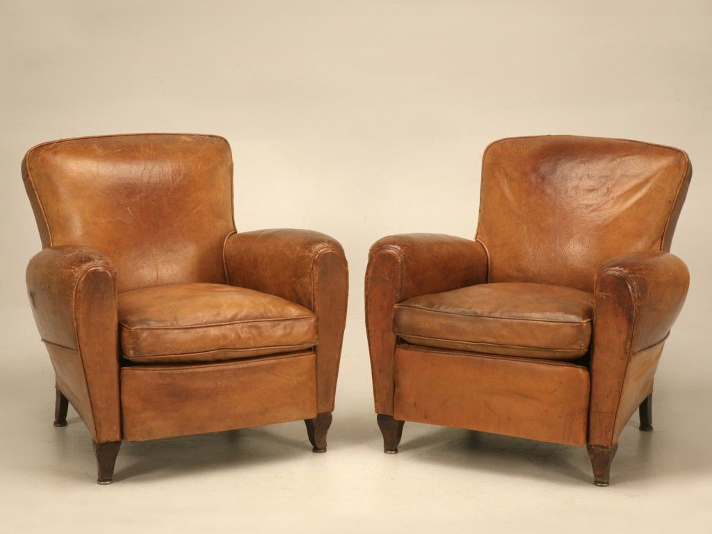 Best Vintage Leather Club Chair Best Photo Vintage French 400 x 300