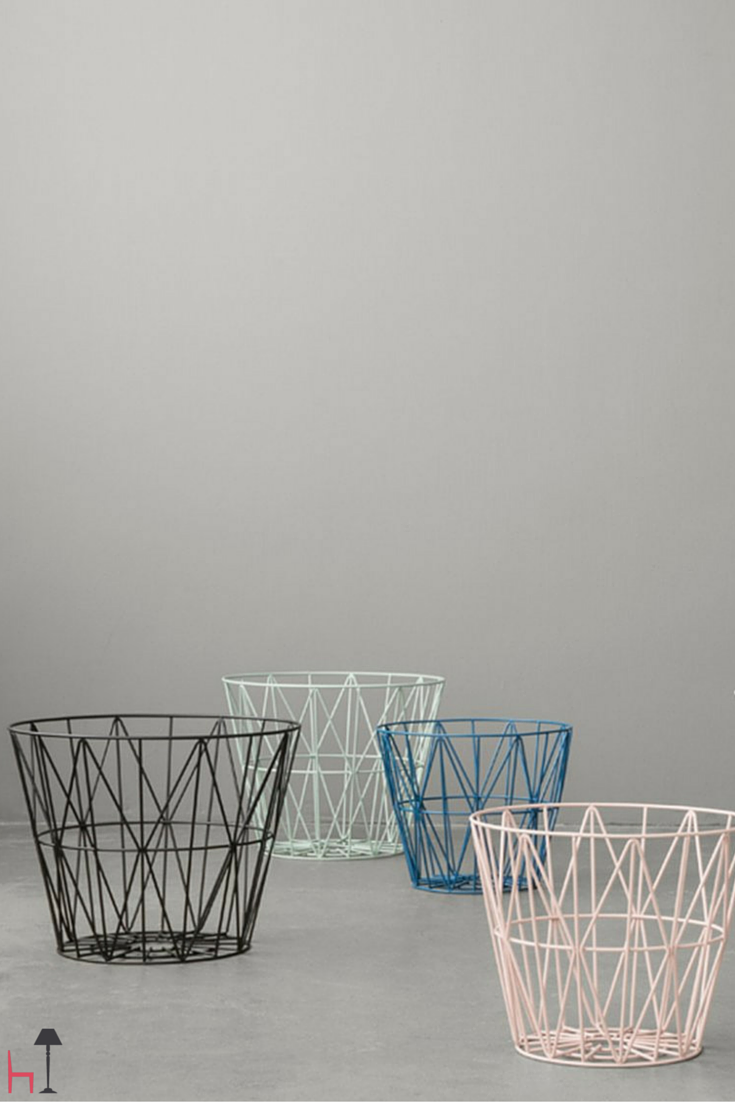 Wire is a multifunctional basket created by Ferm Living.