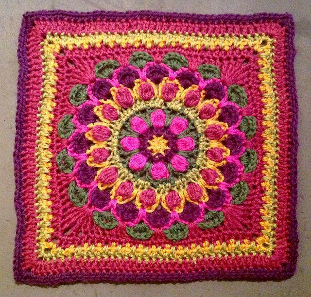 Ravelry: Marigold Mandala Square pattern by Dorianna Rivelli ...