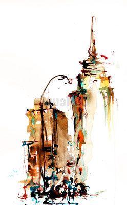 Galerie Inspiration Aquanell Aquarelles Mariages Aquarelle