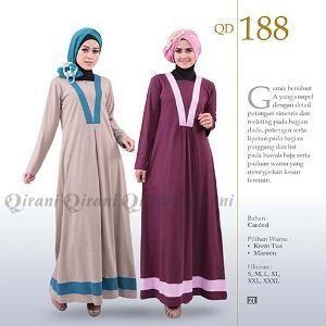 Jual Beli Baju Gamis Qirani Dewasa Model 188 Sale Di Lapak Grosir