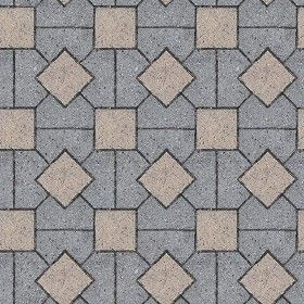 Textures texture seamless paving concrete mixed size for Exterior floor tiles texture