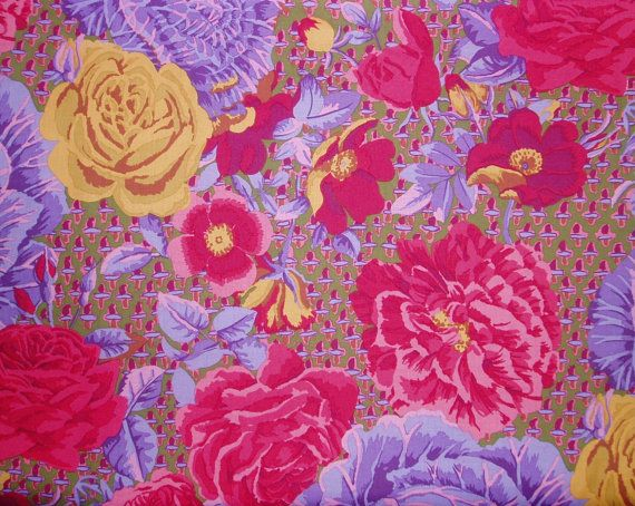 Hey, I found this really awesome Etsy listing at https://www.etsy.com/listing/223438308/12-yard-kaffe-fassett-100-cotton-quilt