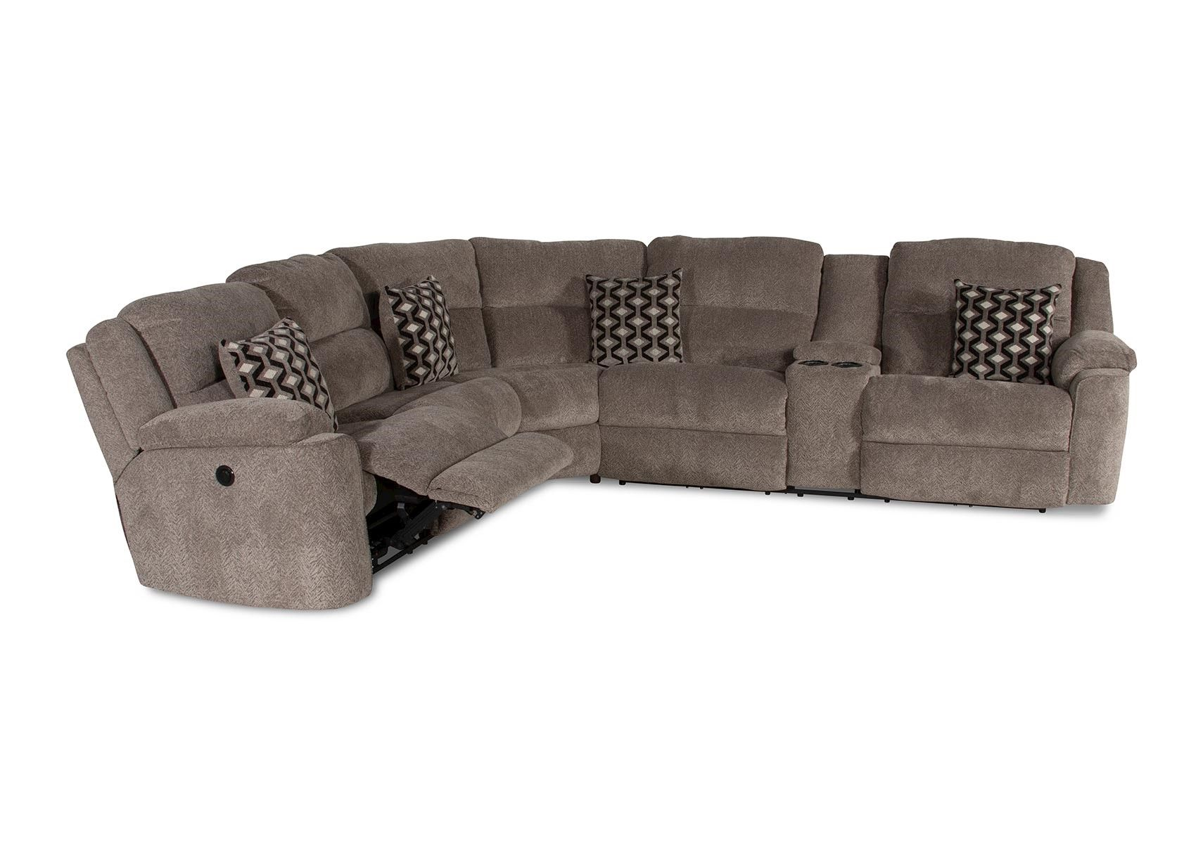 Amazing Lacks Catalina 3 Pc Reclining Sectional With Power Pdpeps Interior Chair Design Pdpepsorg