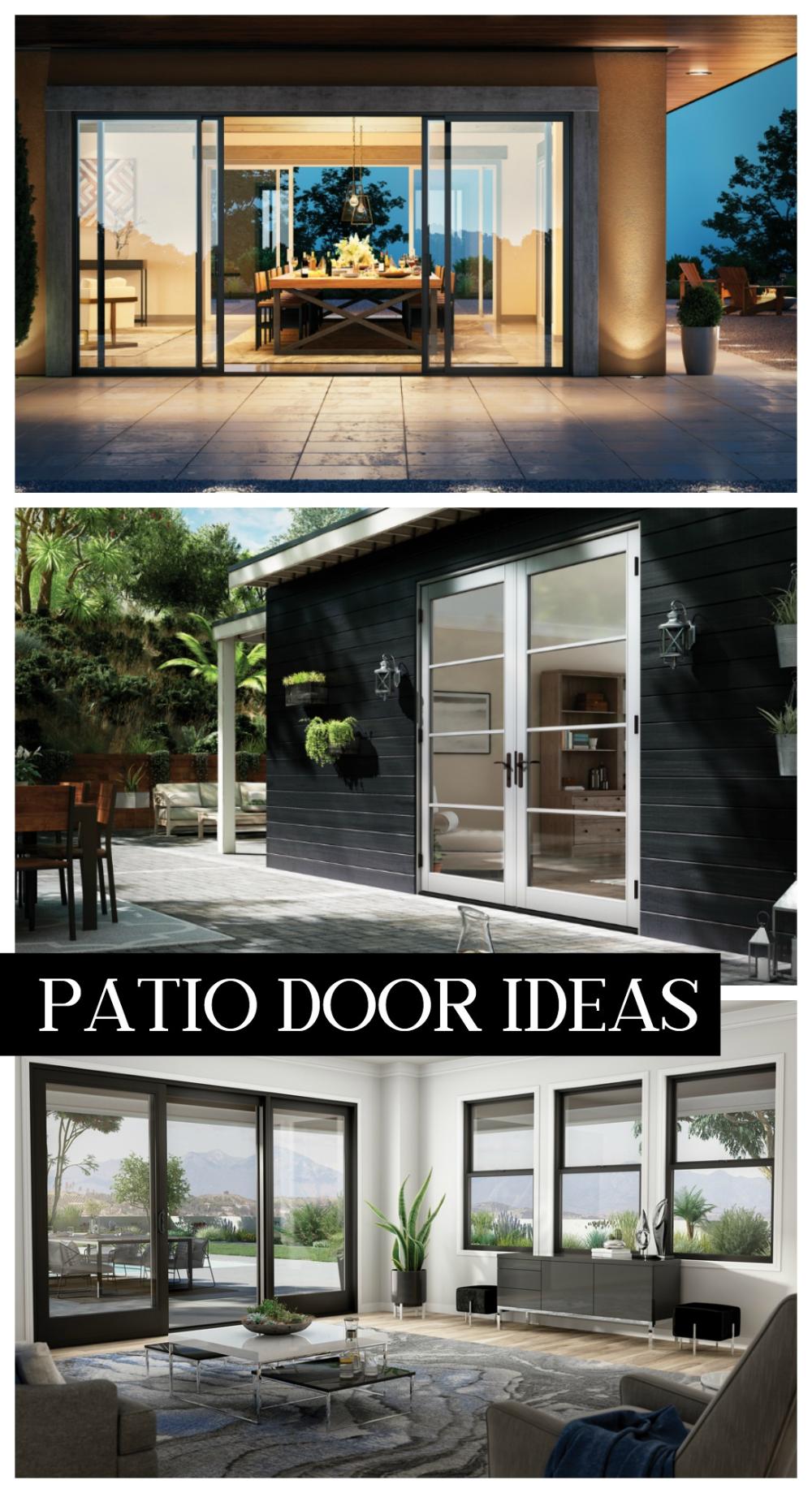 Patio Door Ideas In 2020 Sliding French Doors Patio Patio Doors Contemporary Patio Doors