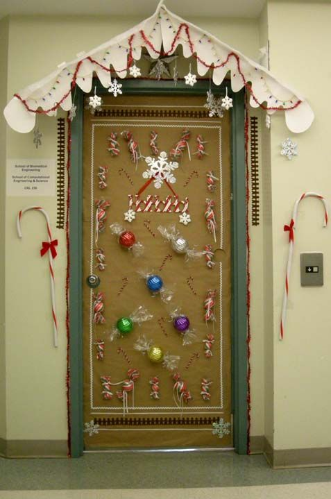 Christmas Door Decorating Contest Winners It 39 S The