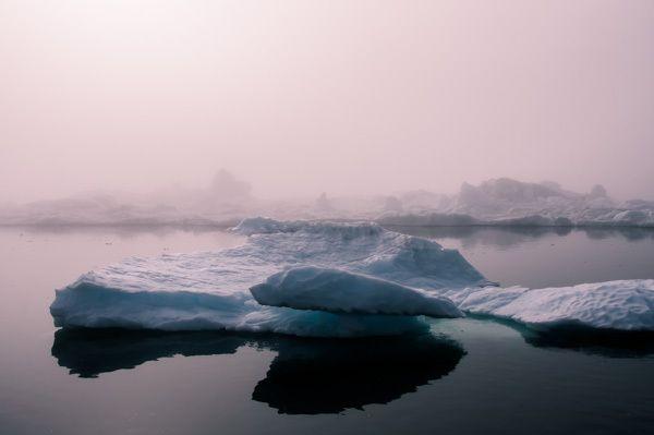 Icebergs In Fog by Jan Erik Waider