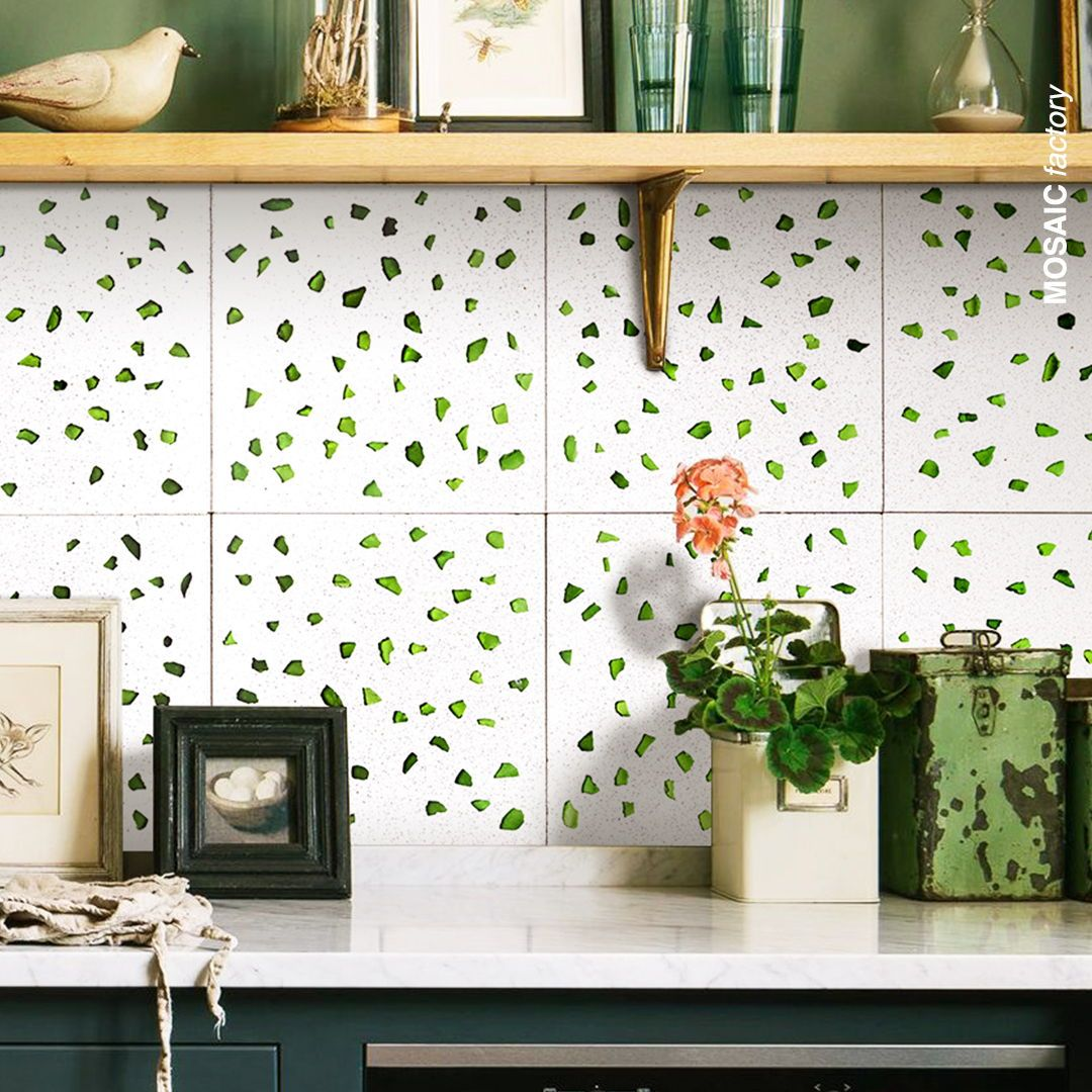 Küchenwandfliesen Terrazzo Backsplash Tiles | Mosaic Factory In 2020