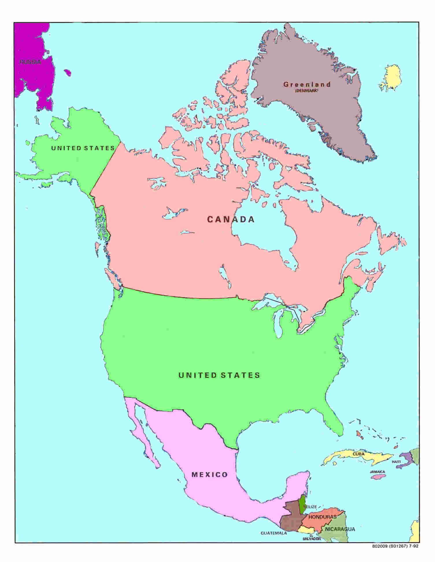 north america countries - HD1505×1945