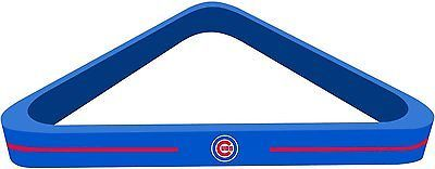 Ball and Cue Racks 75185: Solid Wood Mlb Chicago Cubs 8-Ball Billiards/Pool Table Triangle Rack BUY IT NOW ONLY: $31.95