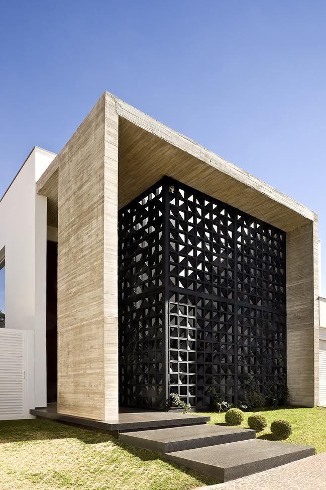 Galeria de casa vap ney lima 6 design pinterest for Casa minimalista lima