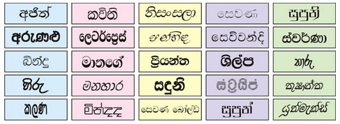 Sinhala Fonts Free Download Zip in 2020 Free fonts