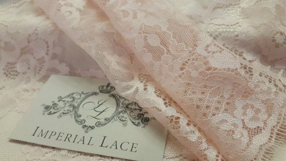 Salmon lace Trimming, French Lace, Chantilly Lace Bridal Gown lace Wedding Lace Salmon Lace Veil lace Scalloped lace Lingerie Lace  Article: Width: 26 cm, listed for one meter (100cm x 26cm). Colors: Salmon Style: French  MAXIMUM ONE PIECE SIZE IS 3 METERS!  Perfect for evening dress accessories, evening gown making. Very stunning and elegant!  Limited stock.  * Wholesale acceptable!  We ship worldwide via Priority mail (Latvijas Pasts) from Latvia (EU). All orders have tracking number and…