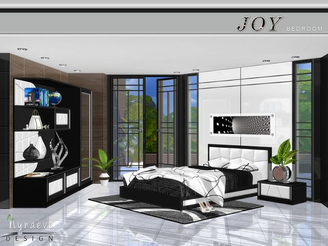Sims 4 CC\'s - The Best: Joy Bedroom by NynaeveDesign | love it ...