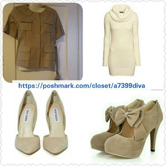 "Michael Kors Blazer Brit Khaki jacket ""Make me an offer"" MICHAEL Michael Kors Jackets & Coats Blazers"