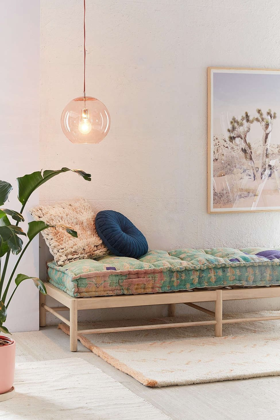 One-Of-A-Kind Rohini Kantha Daybed Cushion | Daybed, Urban ...