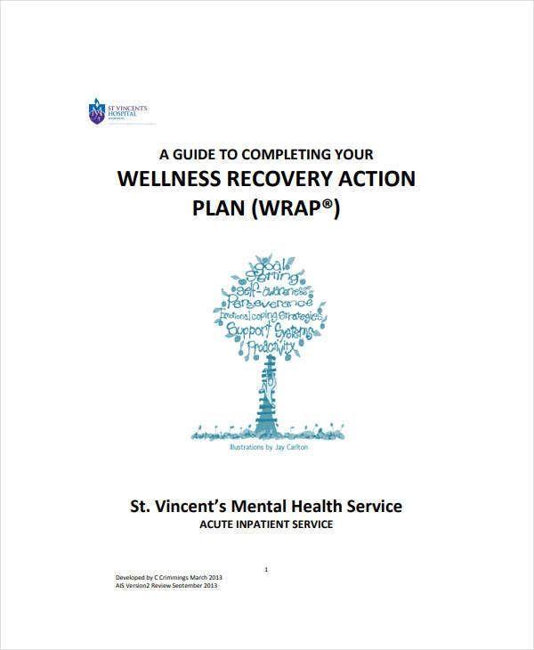 Wellness Recovery Action Plan Worksheet - Worksheetfun in ...