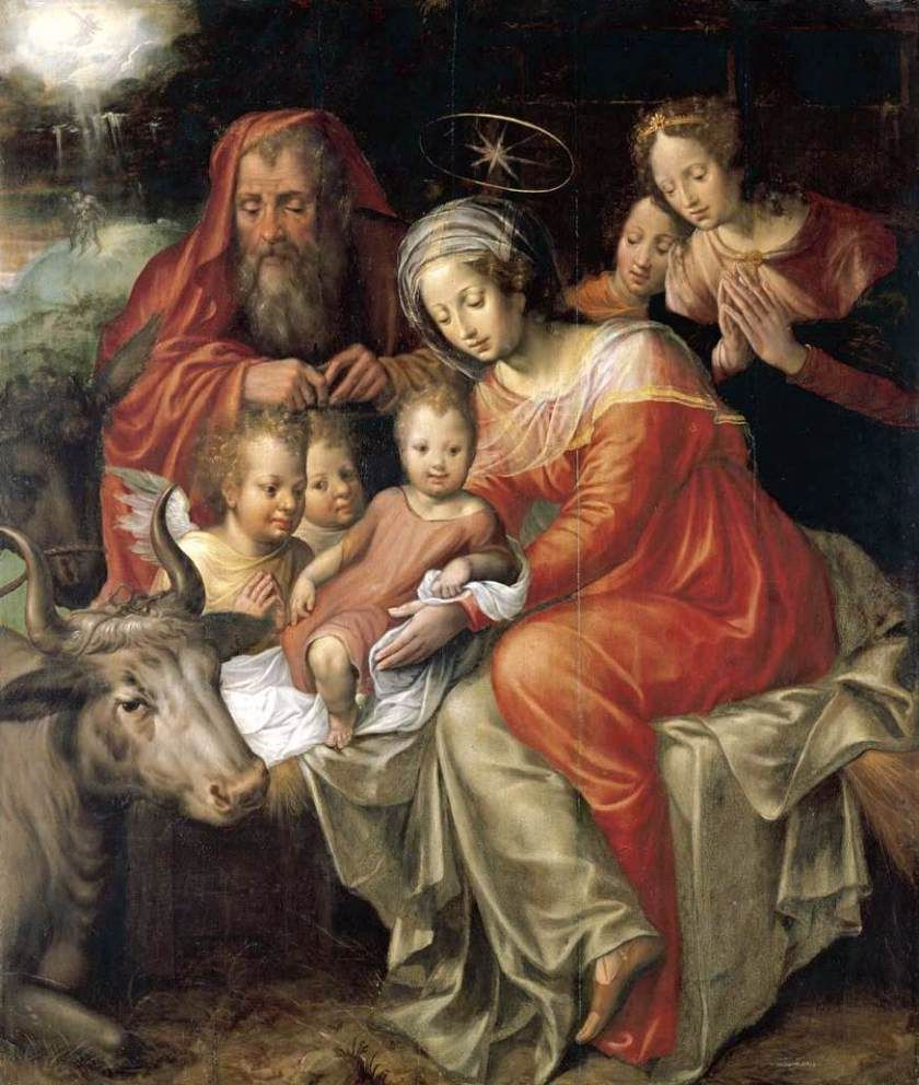 Jacob_de_Backer - 25 December – The Solemnity of the Birth of Our ...
