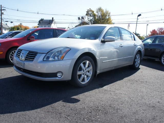 2004 Nissan Maxima- Hamilton NJ - i love the front and rear bucket seats w/ heated & cooled seats (seating for 4) navi and sat radio