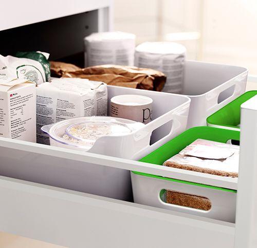 Boîtes de rangement cuisine VARIERA | Ikea, Rangement cuisine et Ikea rangement