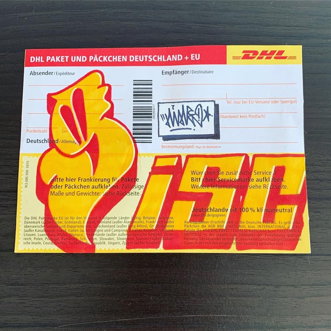 New] The 10 Best Art (with Pictures) - DHL label #isc