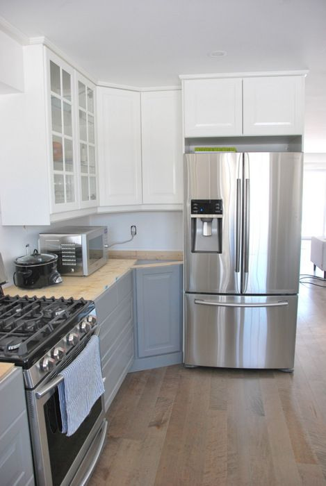 Best A Gray And White Ikea Kitchen Transformation Kitchen 400 x 300