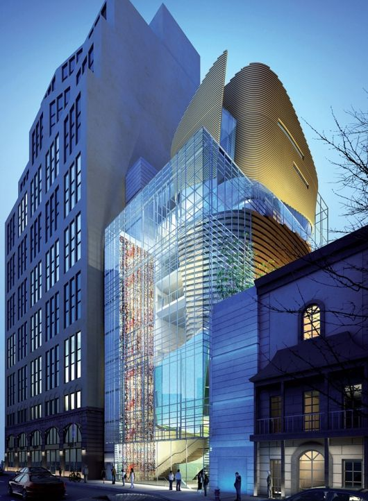 Korean Cultural Center in NYC by SAMOO Architecture