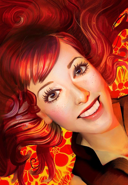 Fiery by eponagirl