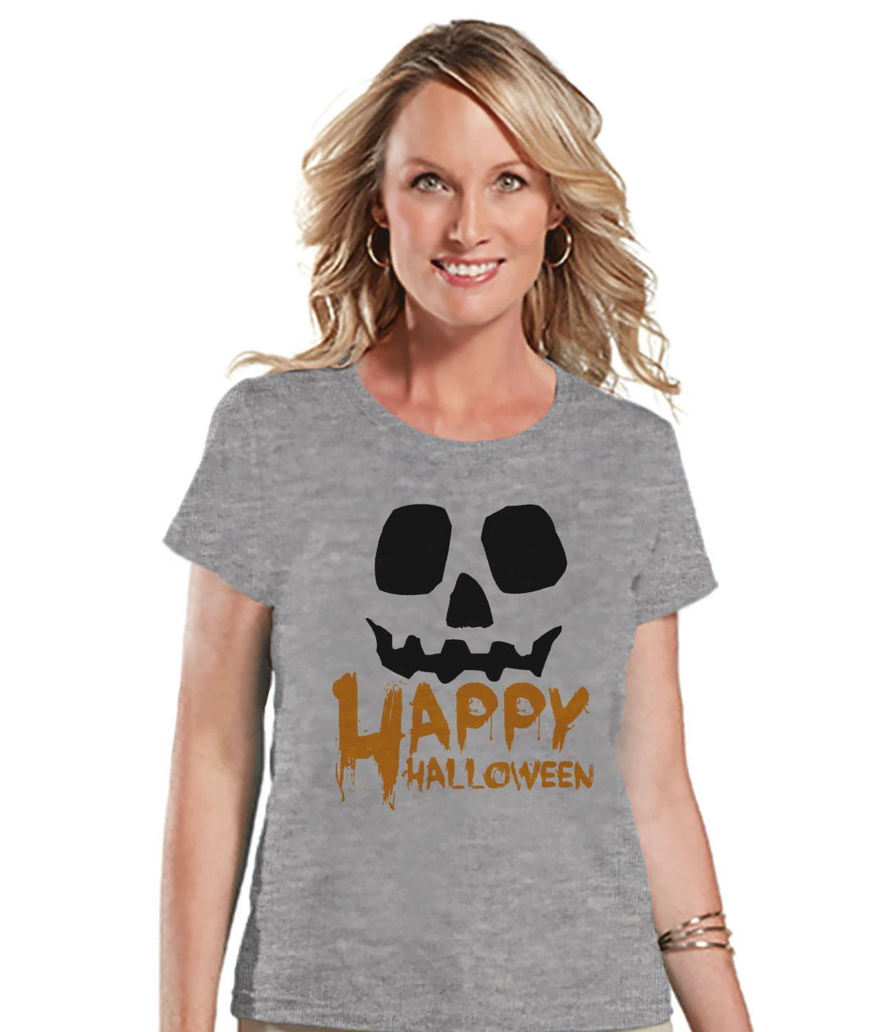 happy halloween shirt adult halloween costumes pumpkin shirt womens costume tshirt ladies - Halloween Shirts For Ladies
