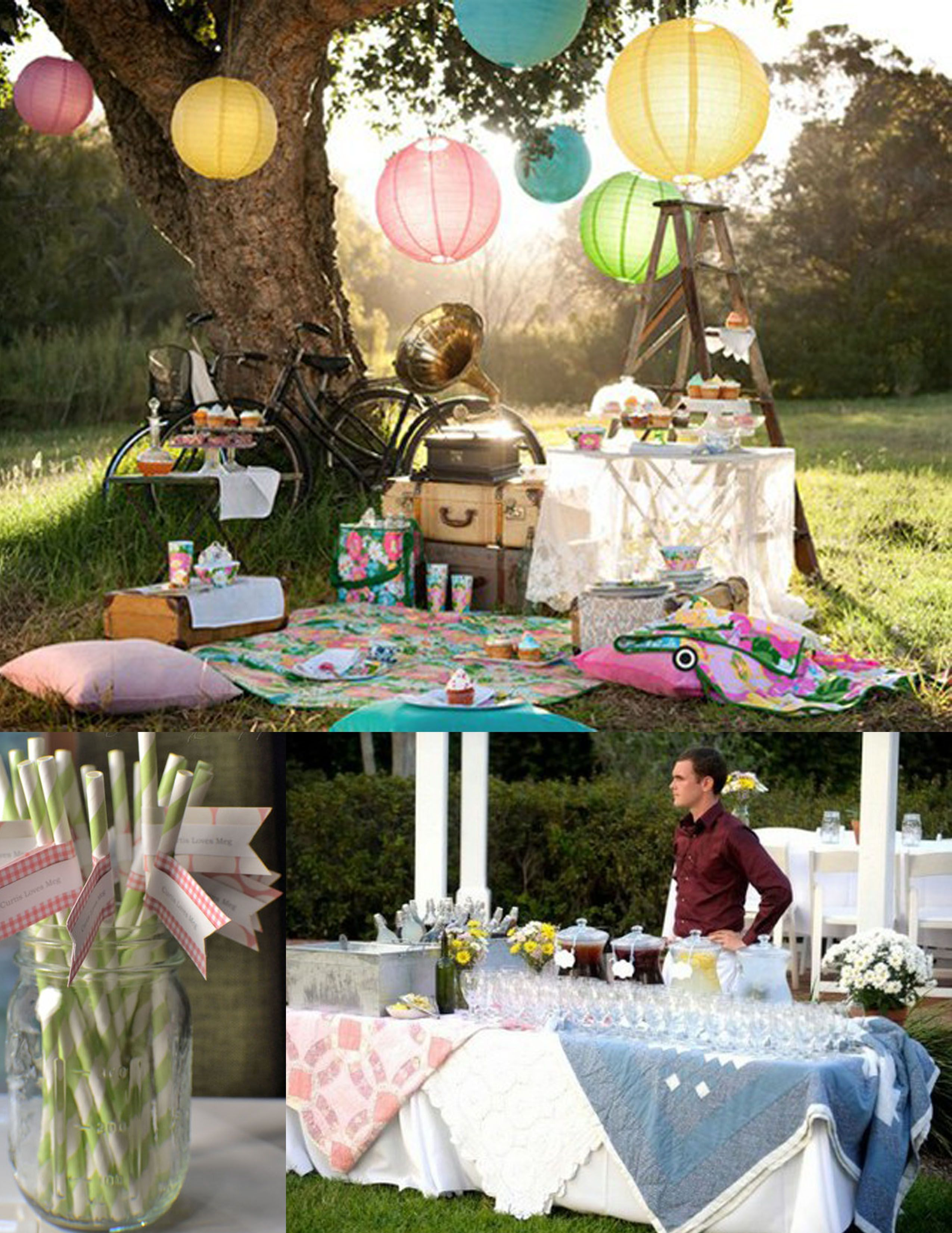 A Perfect Southern Picnic Wedding Photo Sessions Pinterest
