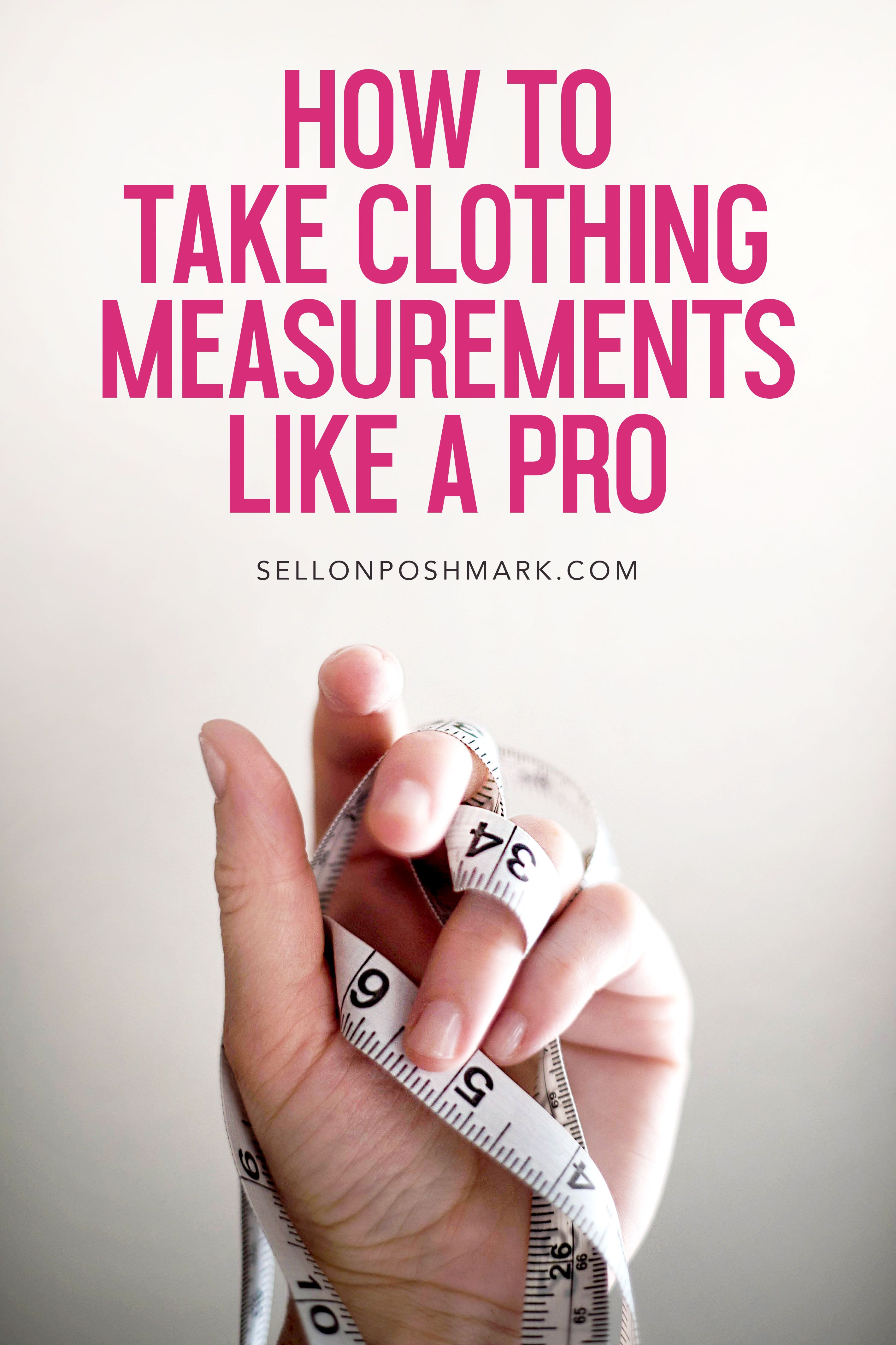 Clothing measurements how to include them in your
