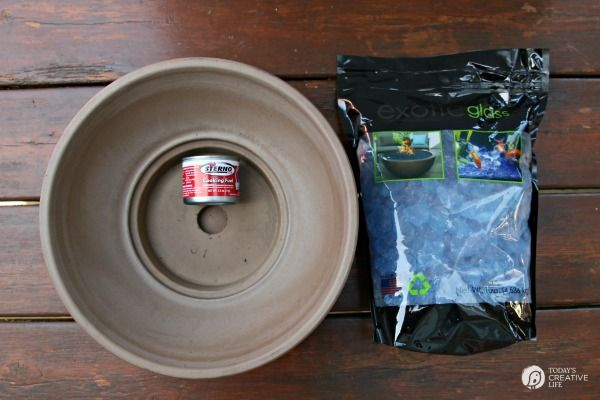 DIY Tabletop Fire Bowl