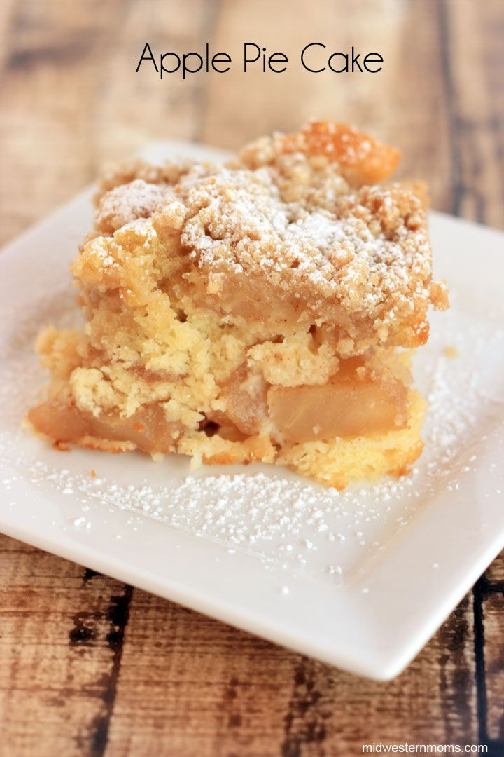 Apple Pie Cake #applepie