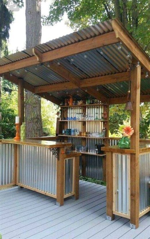 52 Diy Outdoor Kitchen Design Ideas That You Can Try Backyard Gazebo Backyard Patio Backyard Patio Designs