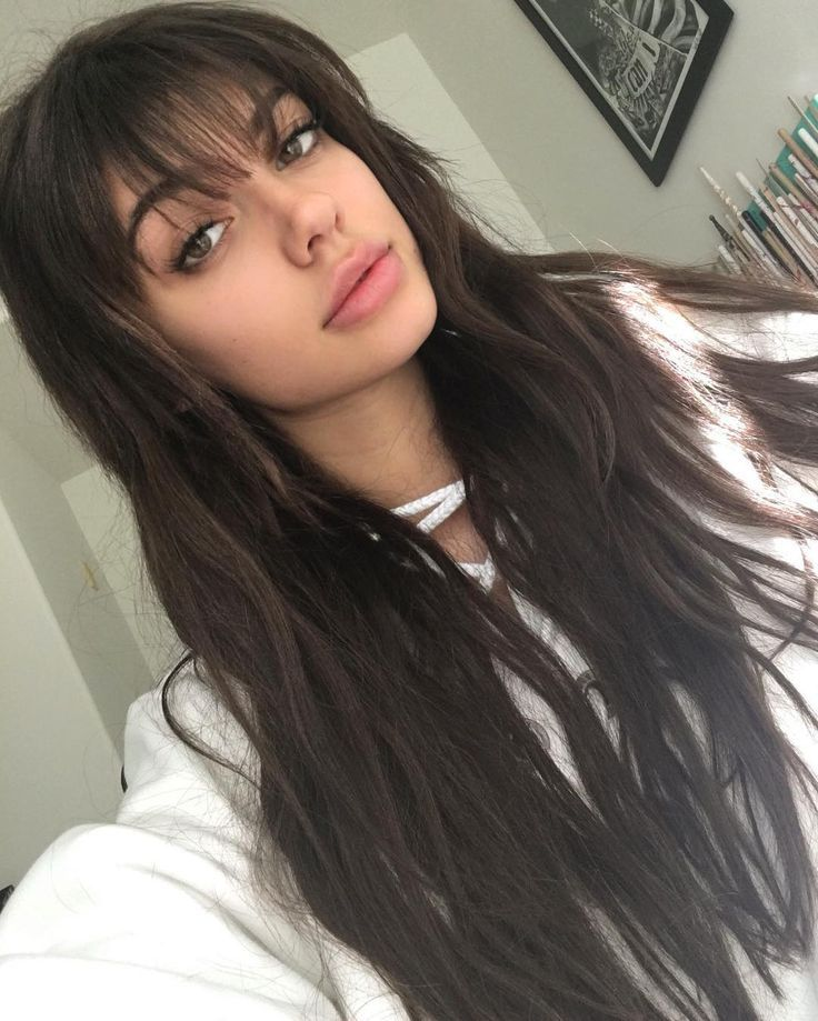 Pin On Long Hairstyles With Bangs