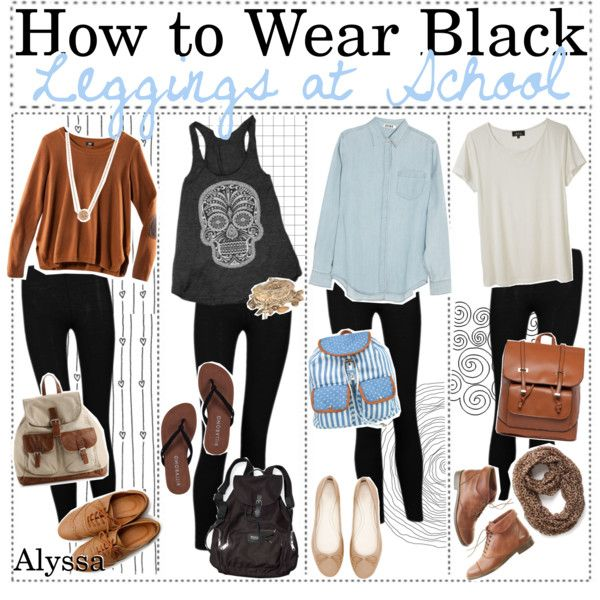 Outfits with black leggings | fashion look from September 2013 ...