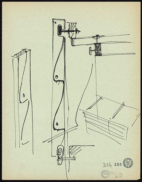 Jean Prouvé Habitat tropical archi petite structure Pinterest - dessiner plan de maison