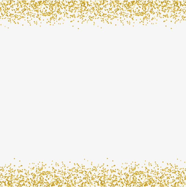 Gold Sequins Decorative Borders Vector Material Gold Shine Png Transparent Clipart Image And Psd File For Free Download Decorative Borders Gold Photo Frames Photo Frame Images