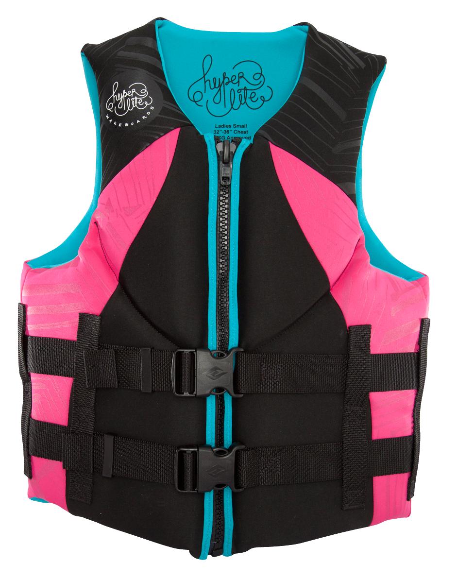 Hyperlite 2016 Women S Indy Cga Pink Life Jacket Life Vest Life Jacket Life Vests