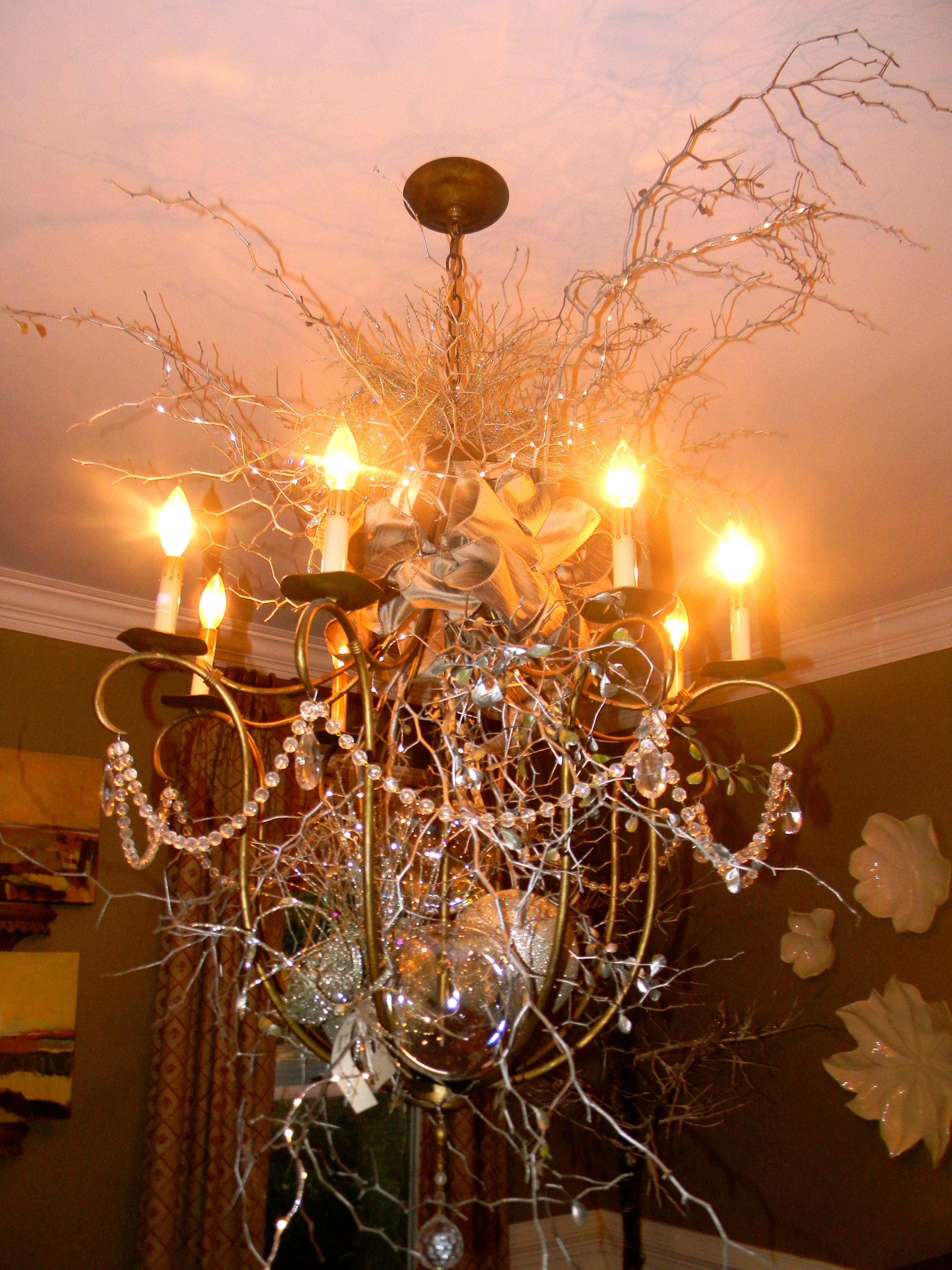 light fixture for the holidays!
