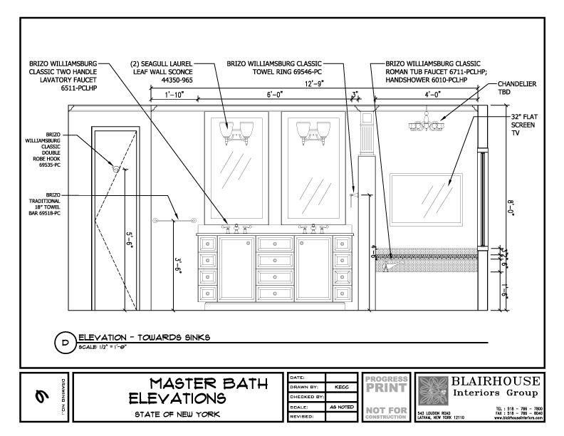 Bathroomelevation1 Jpg 792 612 Bathroom Design Plans Bathroom
