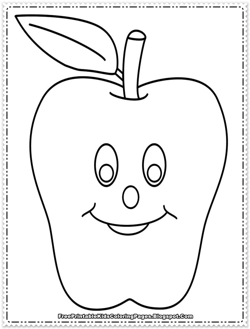 Nutrition alphabet coloring pages apple coloring pages to print coloring coloringbook