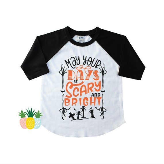 Halloween Shirt Ideas Girls.Scary And Bright Halloween Shirt For Kids Boy S Halloween