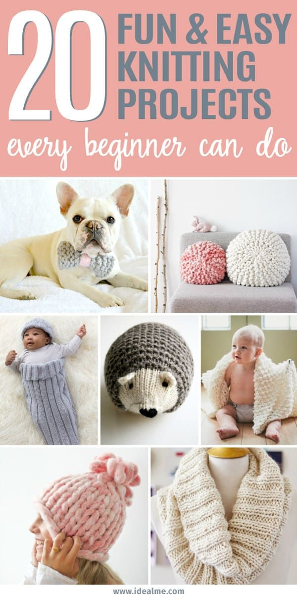 Photo of 20 Easy Knitting Projects Every Beginner Can Do – Ideal Me