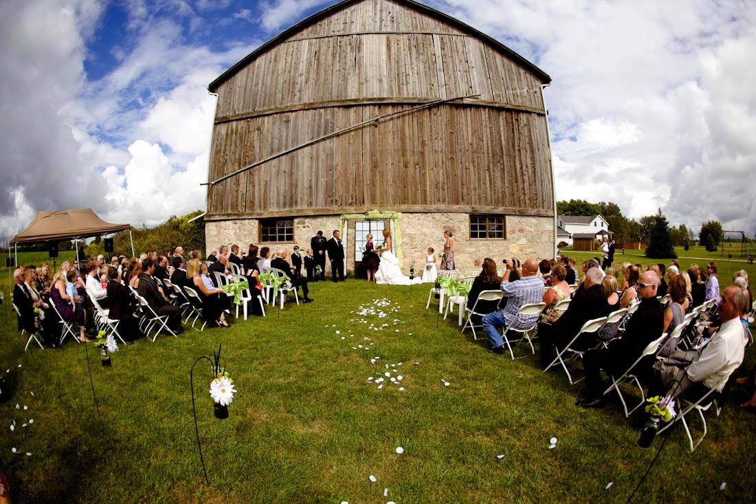 A Rustic Glam Farm Wedding Filled with Personal Details in