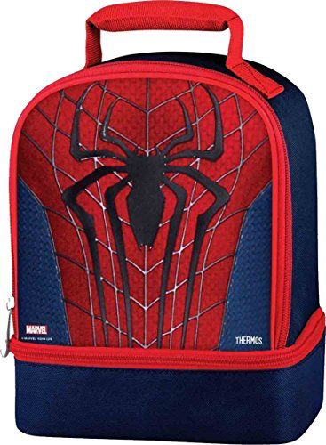 Kids Lunch Bags Ultimate Spiderman Thermos Dual Compartment Kit Find Out More About The Great Product At Image Link