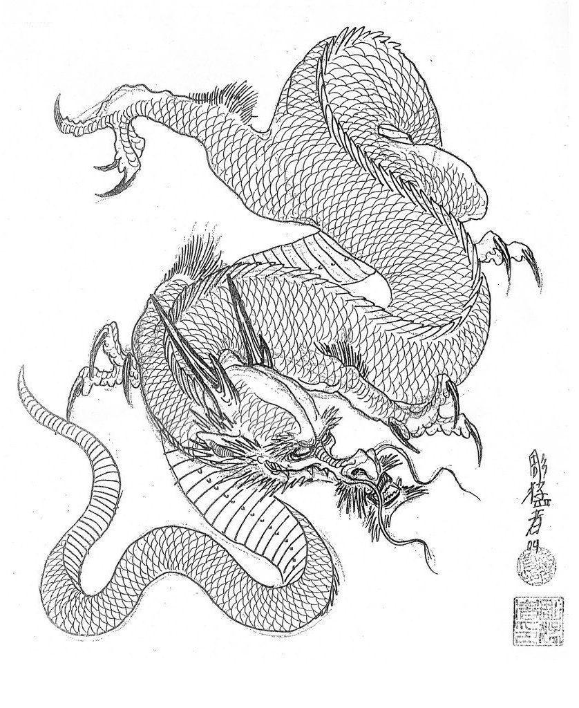 Картинки змей и драконов на тату