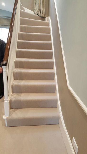 Best Stairs Areas Beige Carpet Textured Carpet Hallway 400 x 300