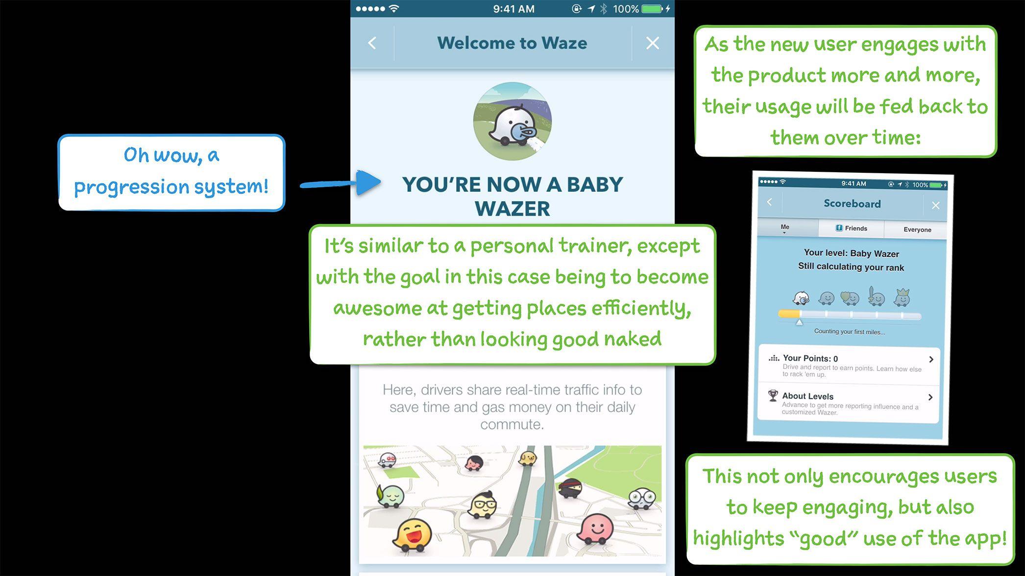 How Waze Onboards New Users | User Onboarding | User